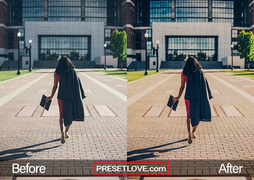 ConGRADulations Preset - University of Alabama