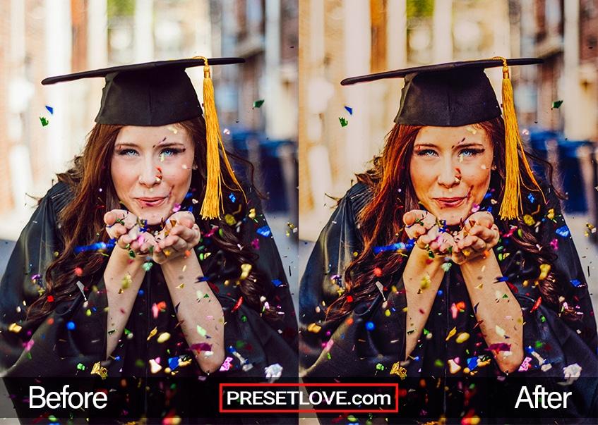 ConGRADulations Preset - confetti
