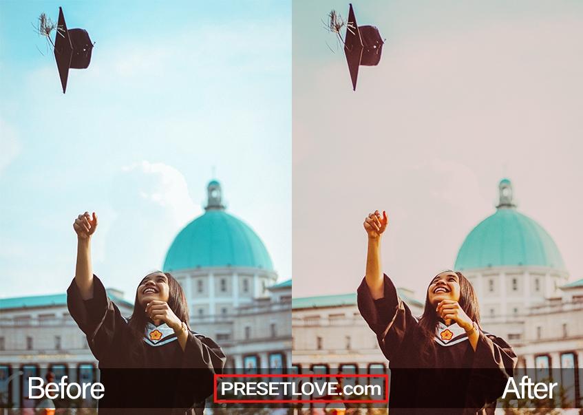 ConGRADulations Preset - graduation cap