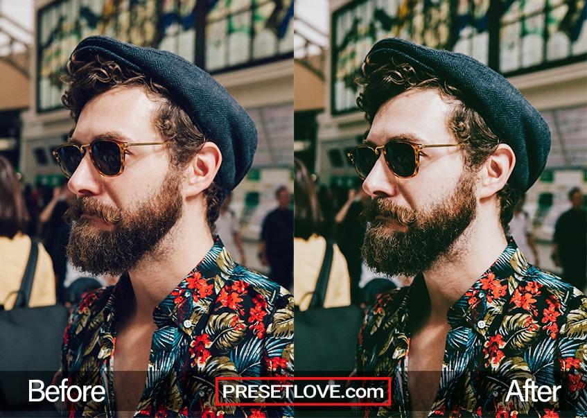 Cinema Stock 2 Preset - beard