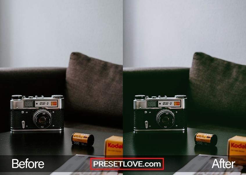 Cinema Stock 2 Preset - camera