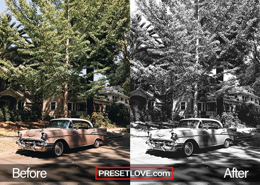 Cinema Stock 3 Preset - vintage car