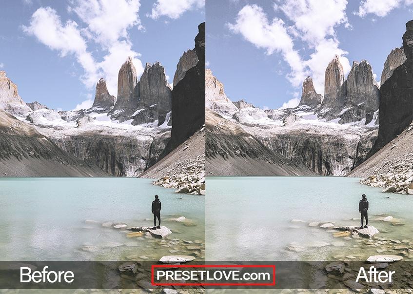 Crisp Mountain preset - Torres del Paine