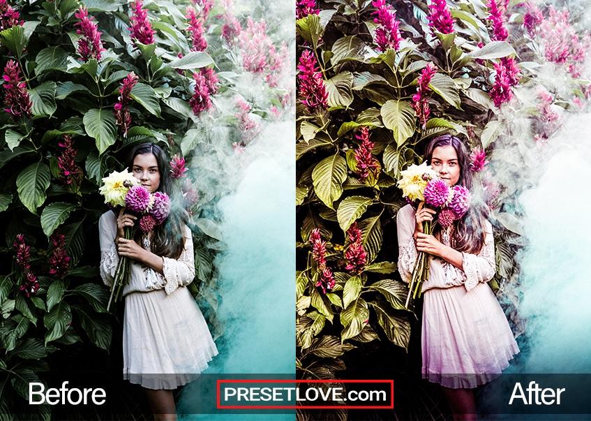 Soft Dreams Preset - flower fairy