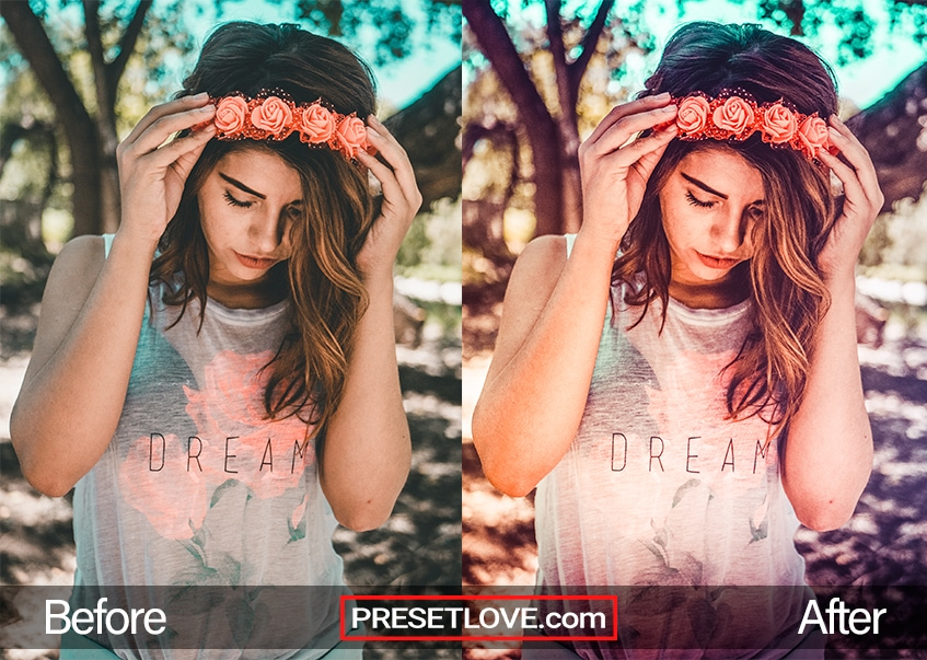 Soft Dreams Preset - flower crown