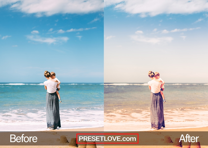 Summer Memories Preset - mother and son