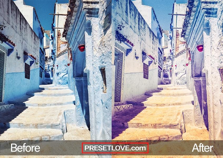 Summer Memories Preset - alley
