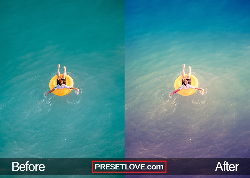 Summer Memories Preset - floatie