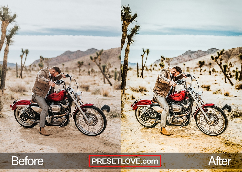 HDR Preset - motorbike