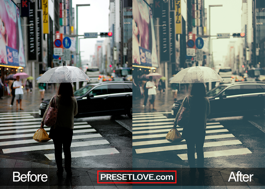 Sweet Fade Preset - umbrella