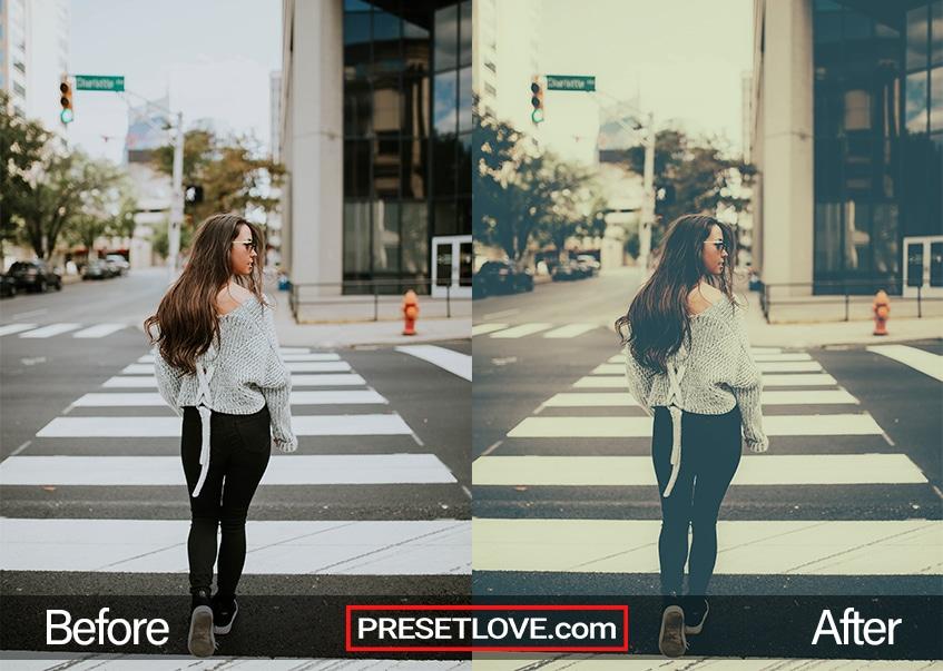 Sweet Fade Preset - crossing