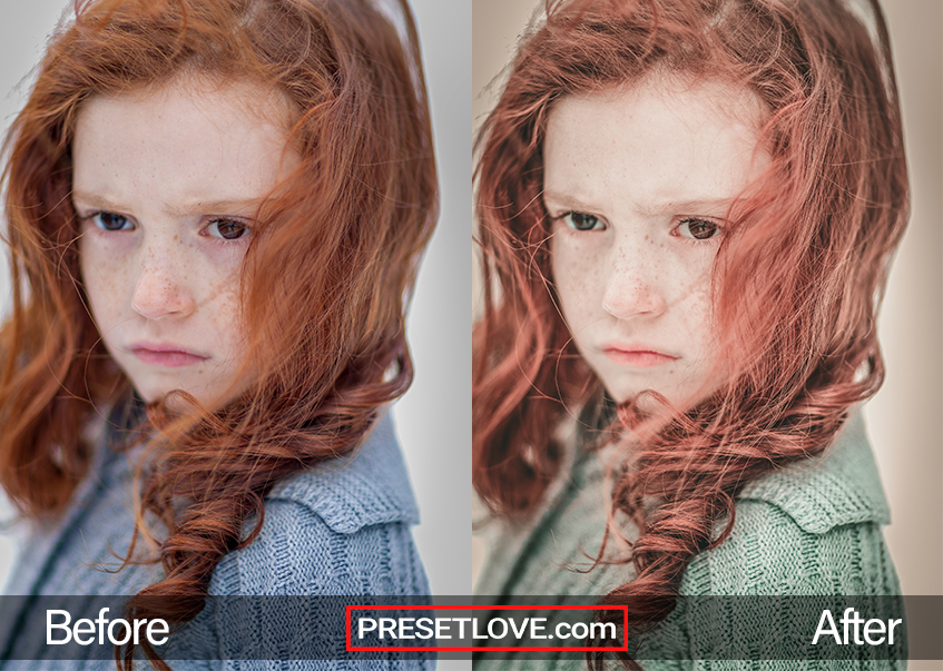 The One Preset - perfect freckles