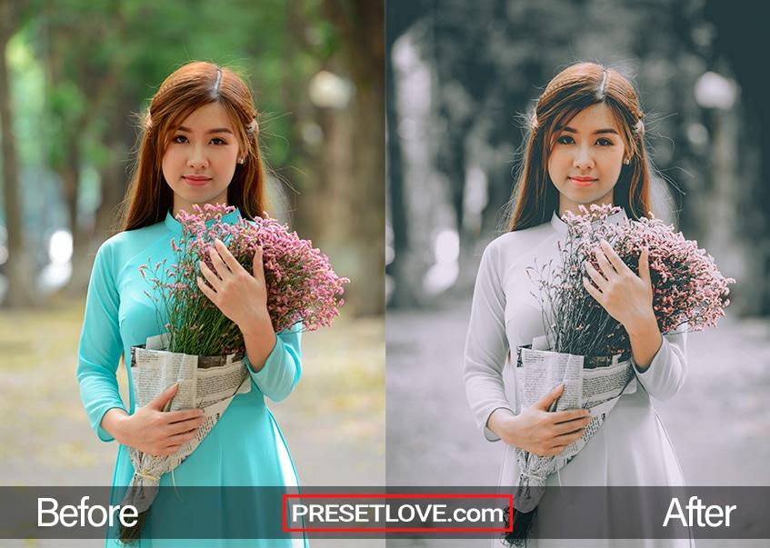Dark Desire Preset - Asian girl