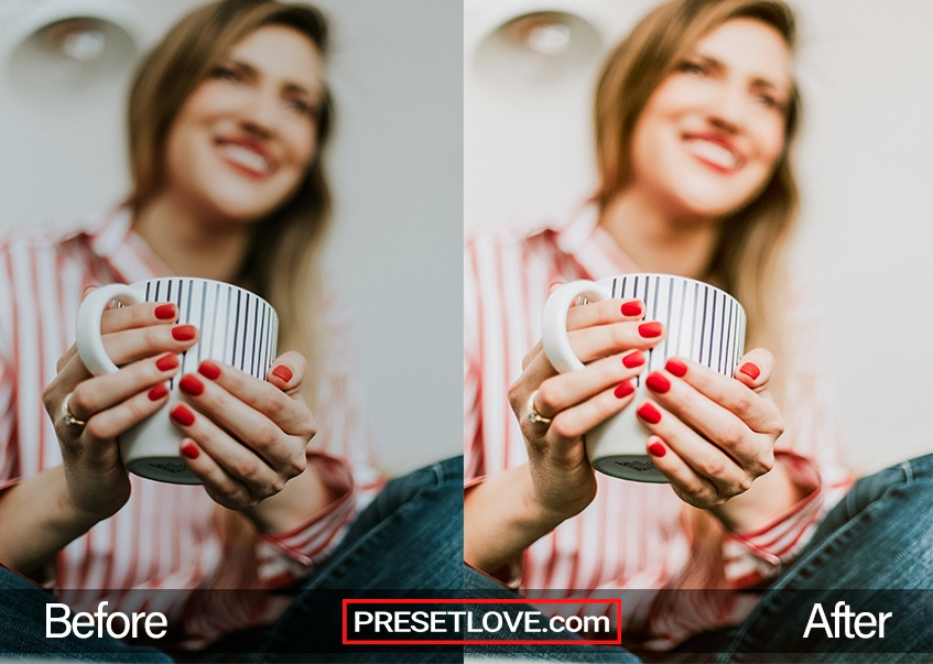 Detail R1 Preset - red nails