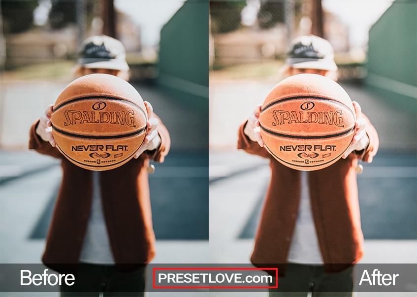 Detail R1 Preset - basketball