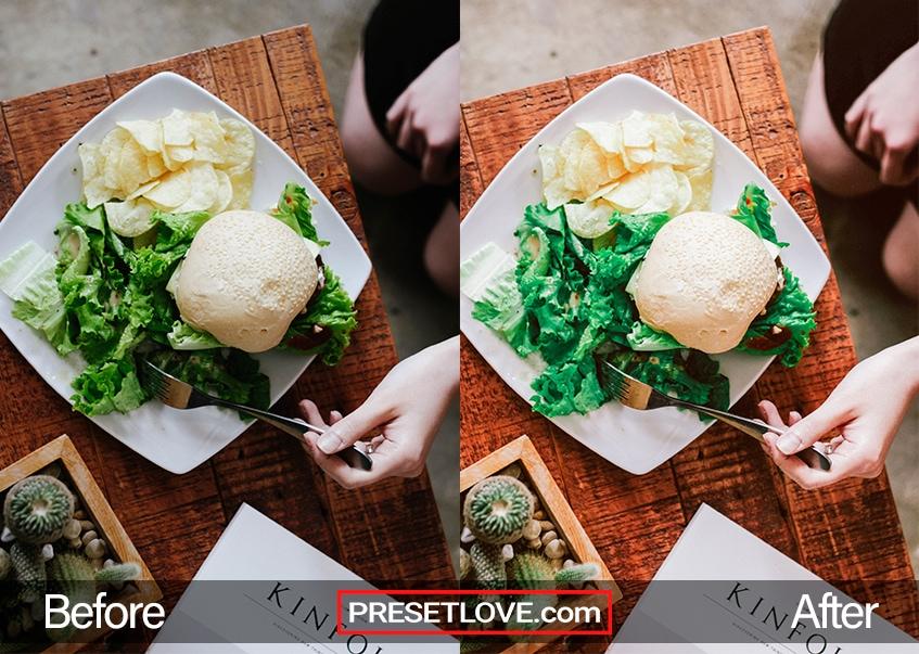 Detail R1 Preset - salad