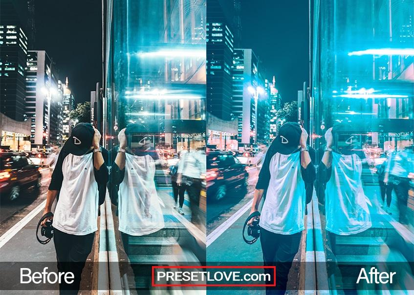 Street Preset - reflection