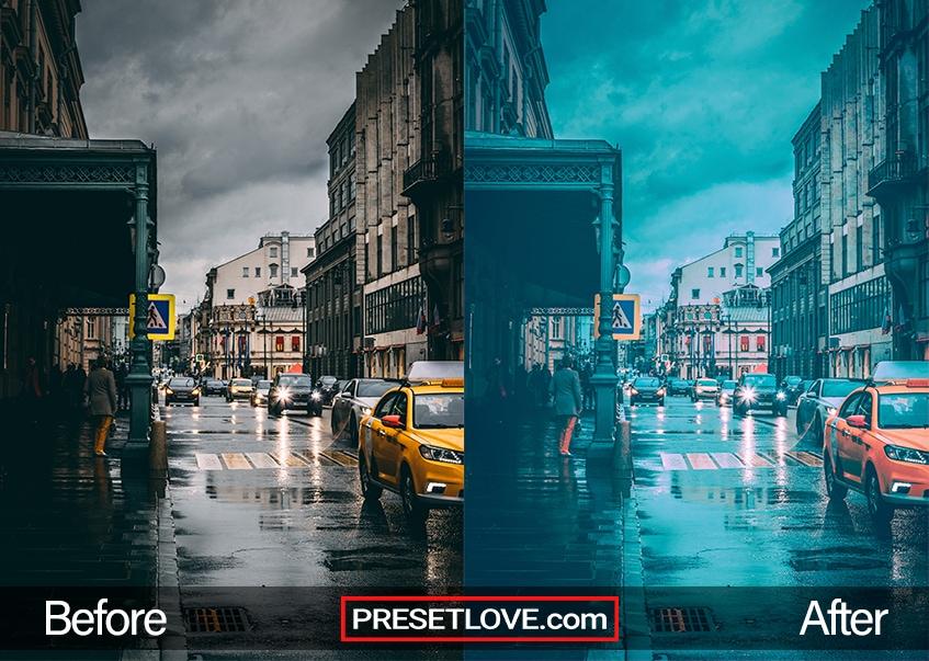 Street Preset - rain