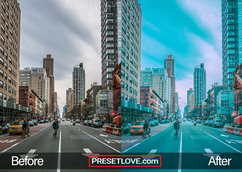 Street Preset - pedestrian