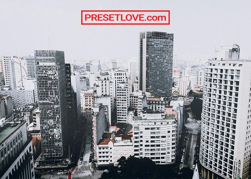 A modern urban landscape