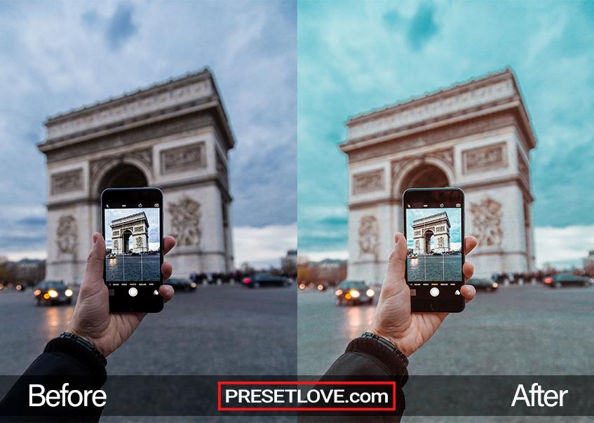 Le Louvre Preset - Arc de Triomphe