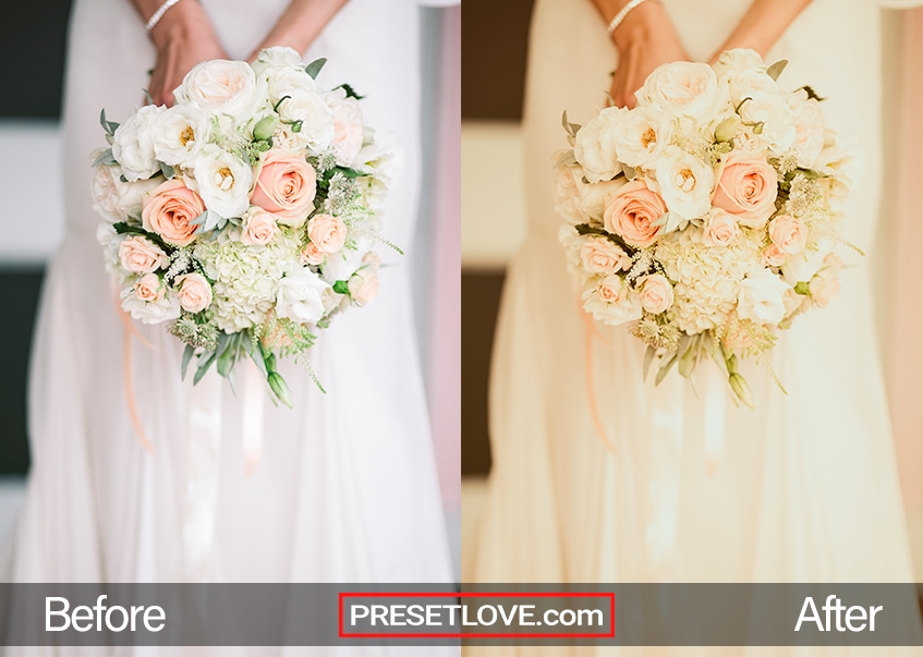 Divina Lolla Preset - wedding bouquet