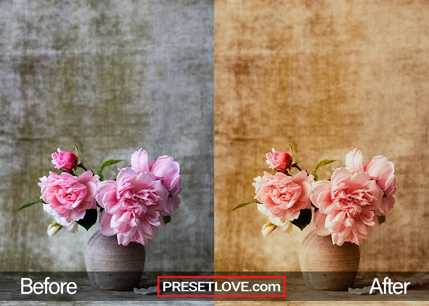 Divina Lolla Preset - flower vase