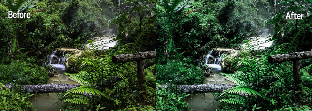 free lightroom preset for landscapes