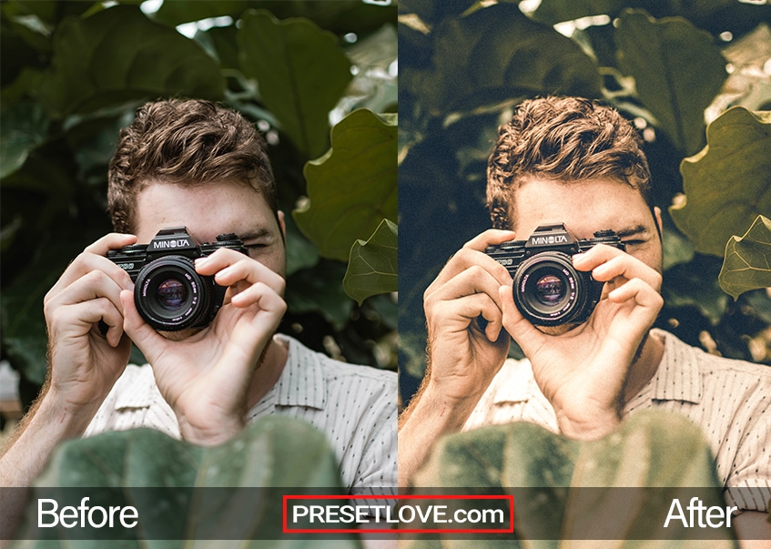 Aged Film Preset Camera