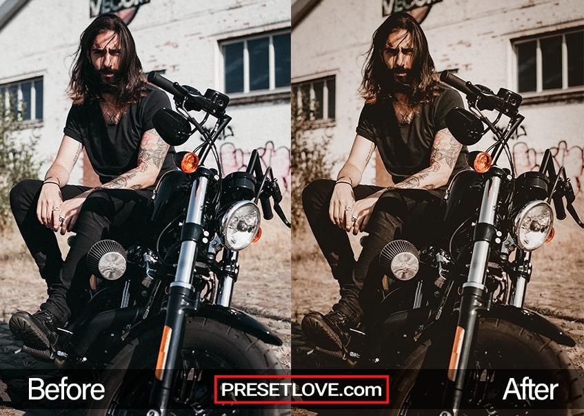 Cenimatic 2 preset motorbike rider