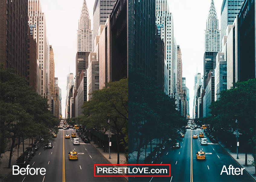 Urban Cool | FREE Preset Download for Lightroom | PresetLove