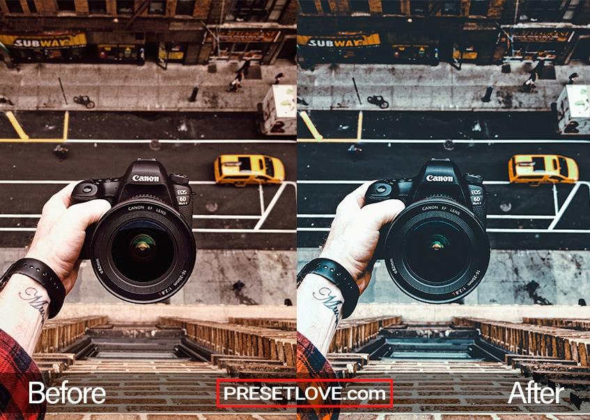 Urban cool preset On Top Selfie
