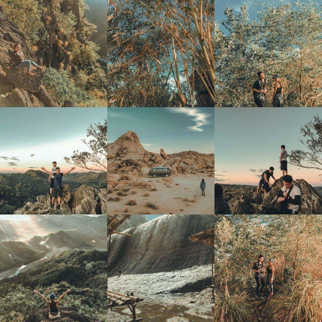 Summit Heights Original Collage - Premium Landscape and Travel Lightroom preset by PresetLove