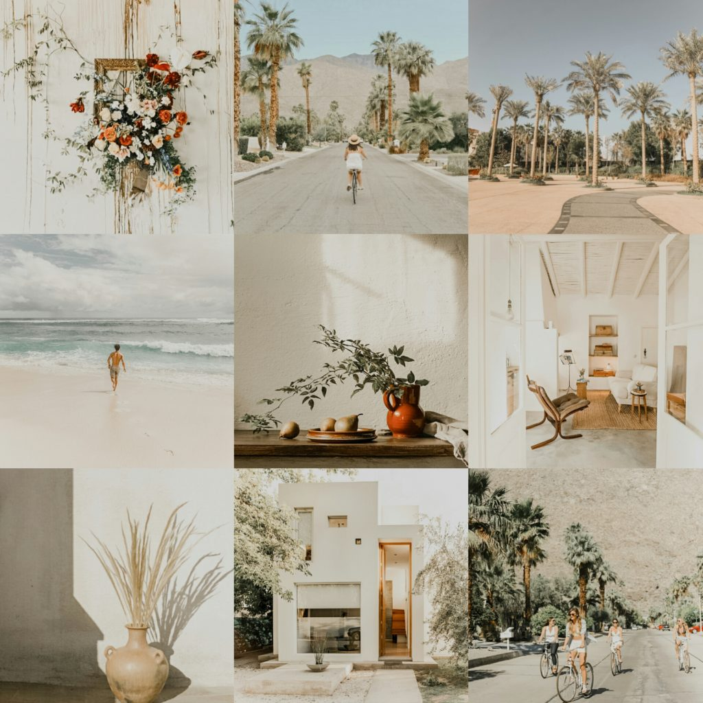 Porcelain Pro Original Collage - Premium Warm White Lightroom preset by PresetLove