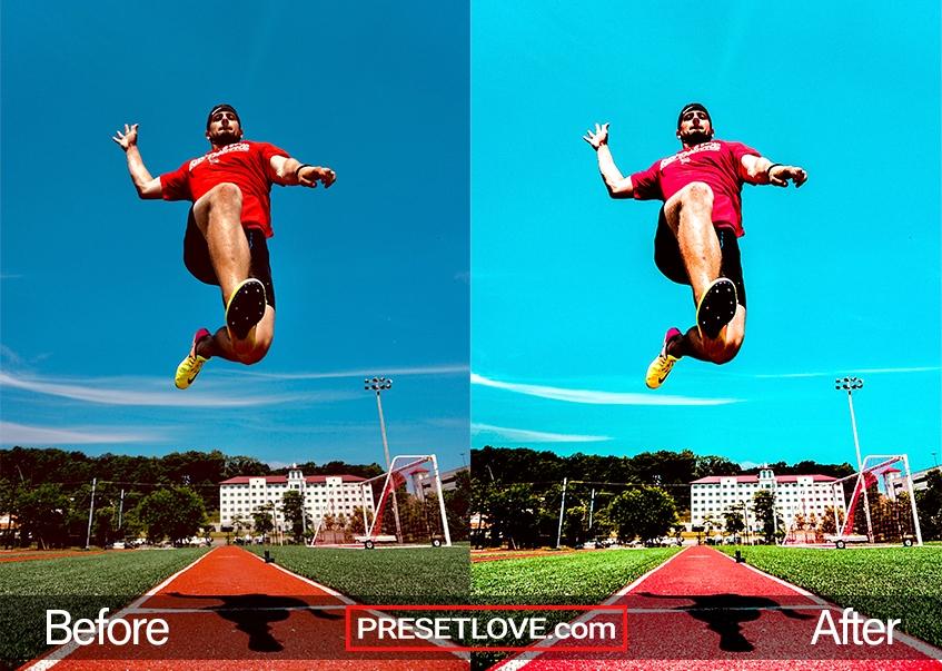 Sport Preset long jump