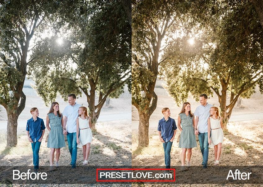 Family Day preset - family