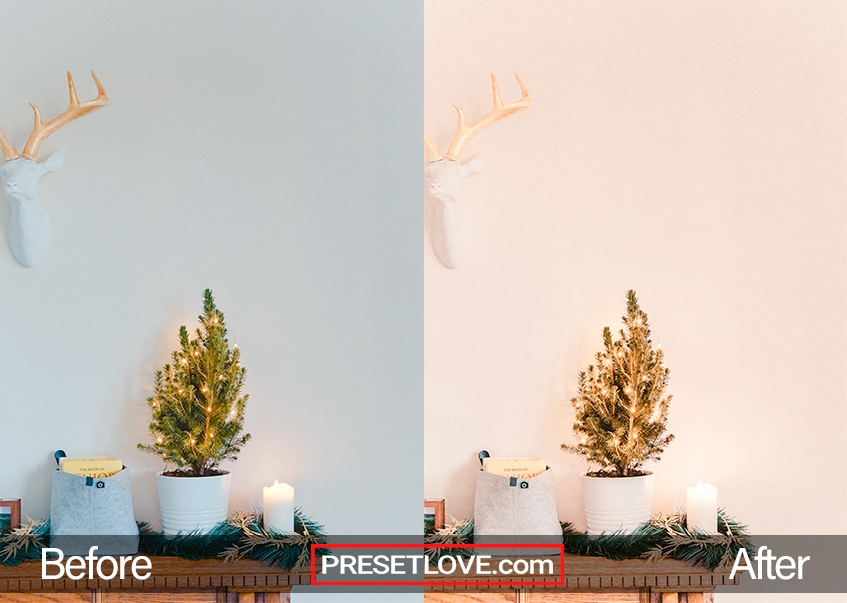 New Year's Party Preset - tiny Christmas tree