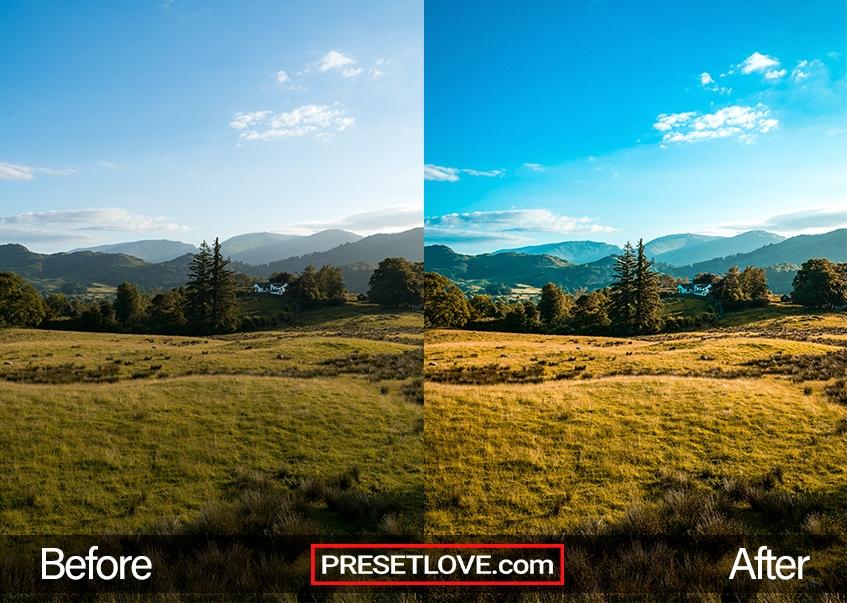 Travel Preset - hill