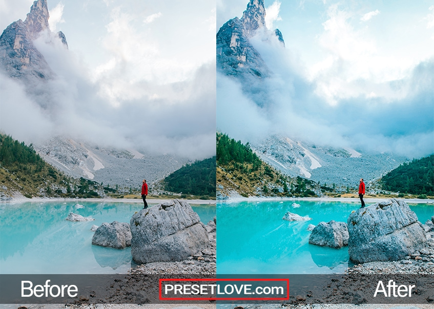 Travel Preset - Lago de Sorapiss
