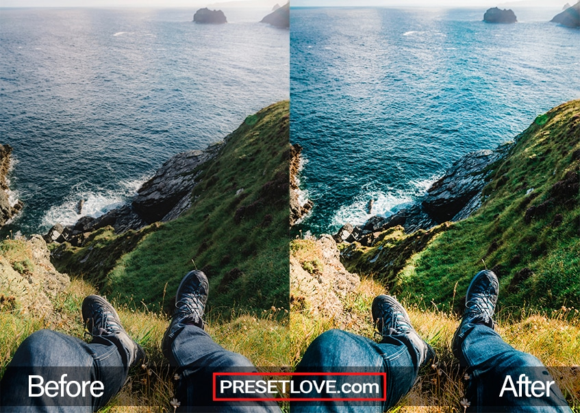 Travel Preset - sea