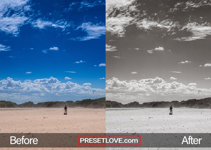 Documentary Preset - desert sky