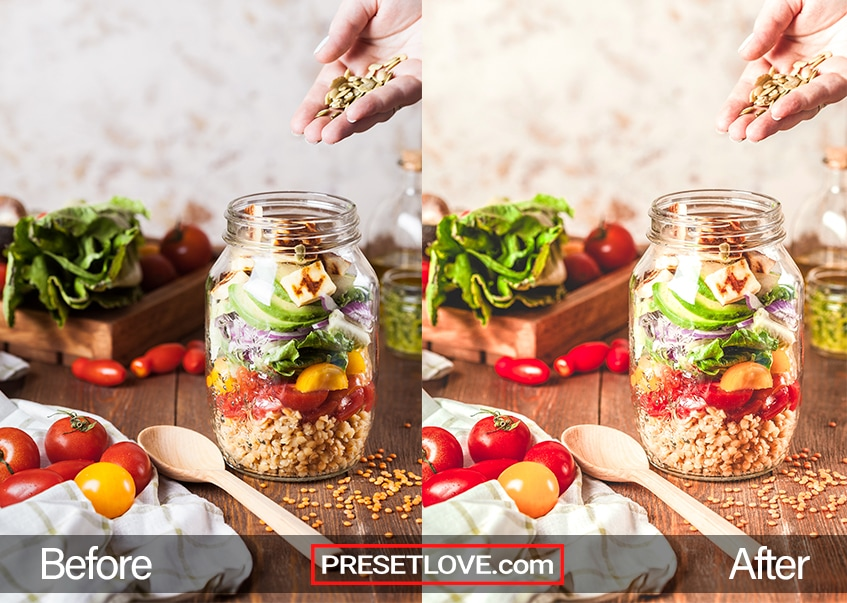 Food Preset - meal preparation
