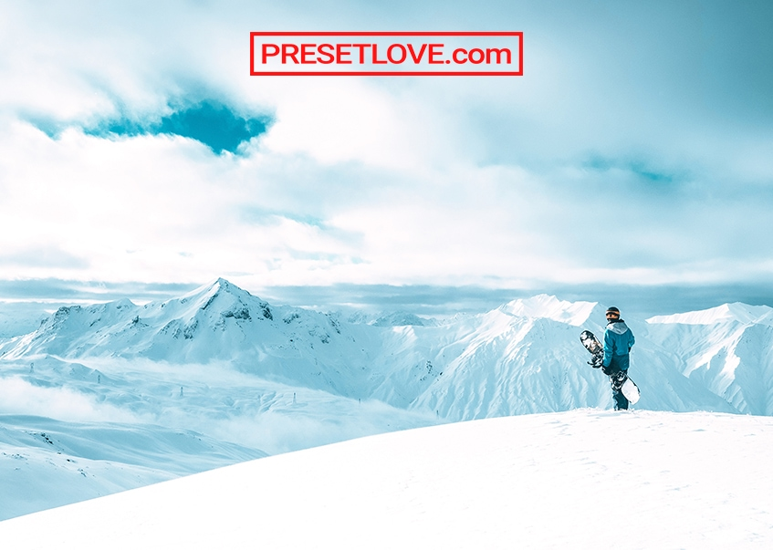 Winter Sports Preset by Presetlove.com