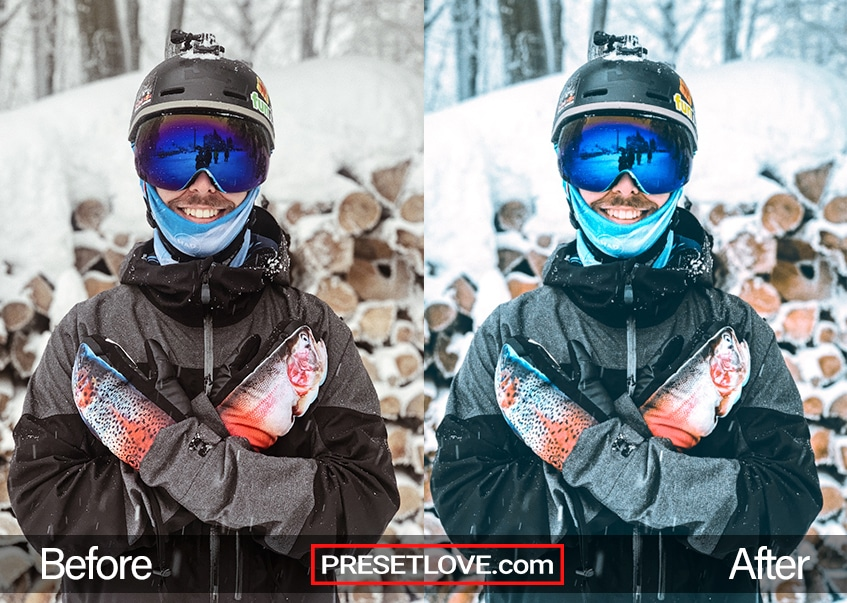 Winter Sports Preset - full ski gear