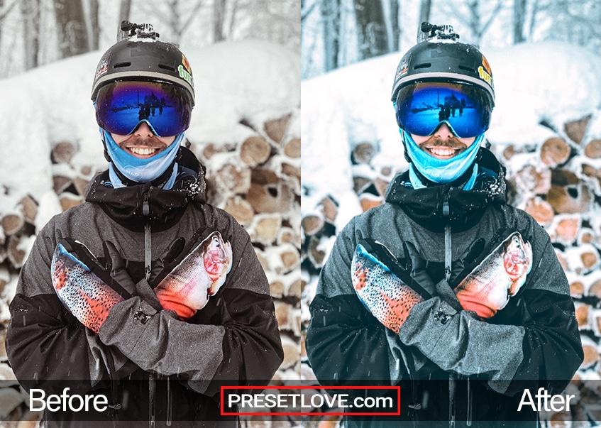 Winter Sports Preset - full ski gear