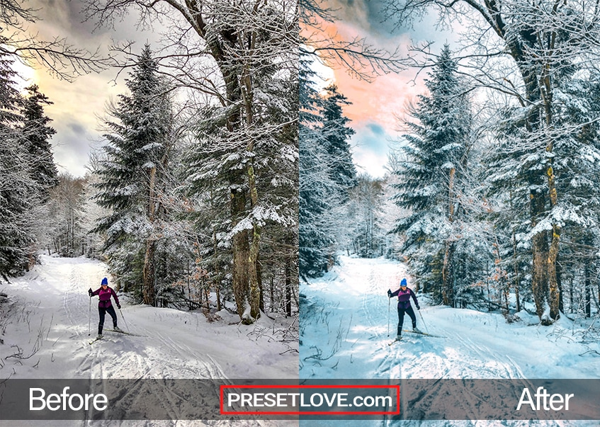 Winter Sports Preset - nordic skiing