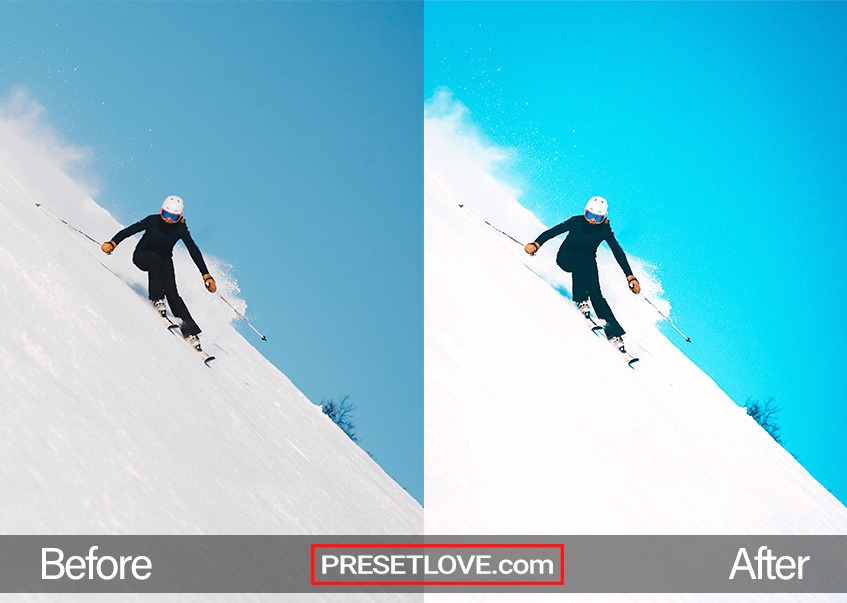 Winter Sports Preset - snow skiing