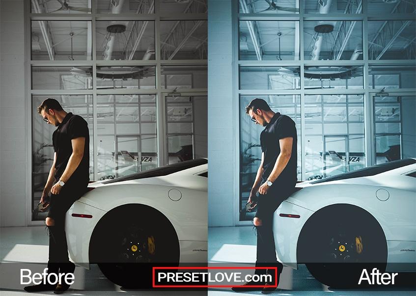 Cool Fade Preset - Ferrari