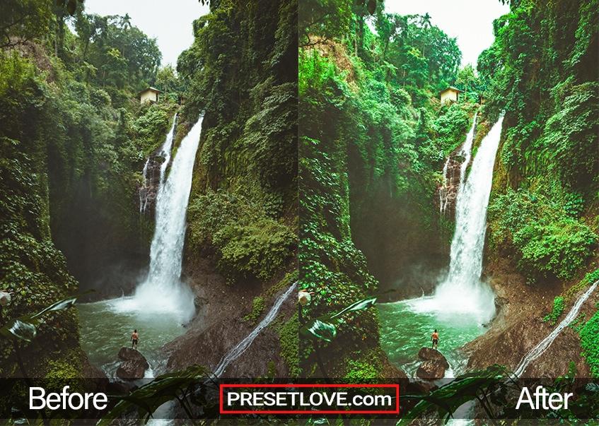 Exotic Trip Preset - waterfalls