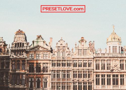 Vintage Architecture Preset by Presetlove.com